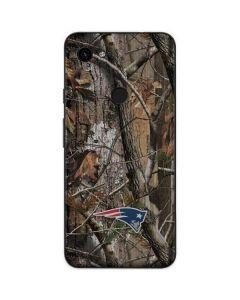 New England Patriots Realtree AP Camo Google Pixel 3a Skin