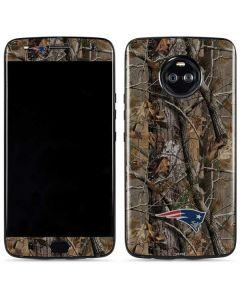 New England Patriots Realtree AP Camo Moto X4 Skin