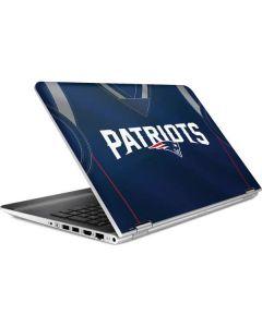 New England Patriots Team Jersey HP Pavilion Skin