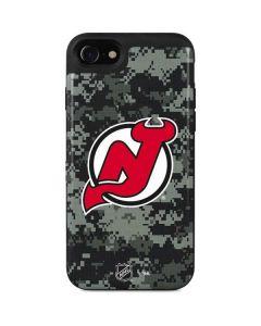 New Jersey Devils Camo iPhone SE Wallet Case