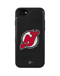 New Jersey Devils Distressed iPhone SE Wallet Case