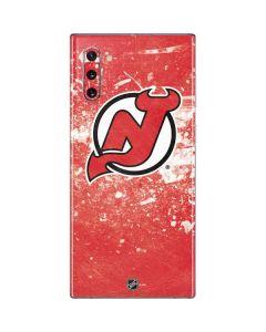 New Jersey Devils Frozen Galaxy Note 10 Skin