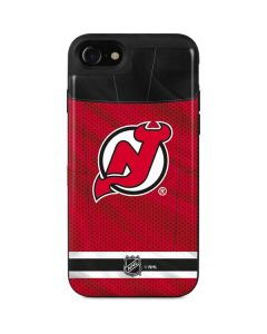 New Jersey Devils Home Jersey iPhone SE Wallet Case