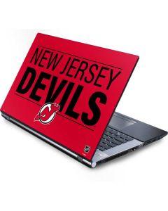New Jersey Devils Lineup Generic Laptop Skin