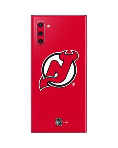 New Jersey Devils Solid Background Galaxy Note 10 Skin