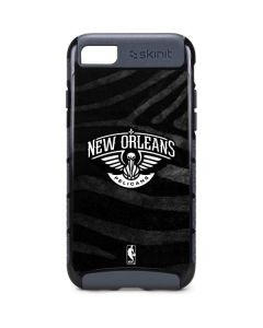 New Orleans Pelicans Black Animal Print iPhone 8 Cargo Case