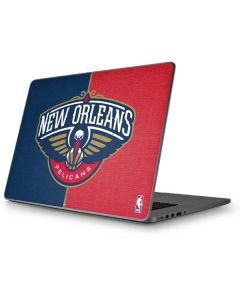 New Orleans Pelicans Canvas Apple MacBook Pro 17-inch Skin