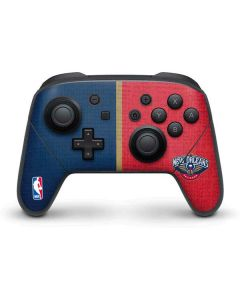 New Orleans Pelicans Canvas Nintendo Switch Pro Controller Skin
