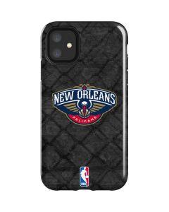 New Orleans Pelicans Dark Rust iPhone 11 Impact Case