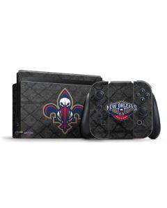 New Orleans Pelicans Dark Rust Nintendo Switch Bundle Skin