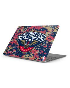New Orleans Pelicans Digi Camo Apple MacBook Pro 16-inch Skin