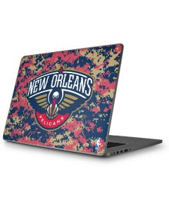 New Orleans Pelicans Digi Camo Apple MacBook Pro 17-inch Skin