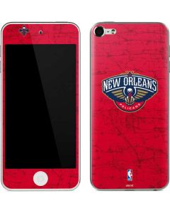 New Orleans Pelicans Distressed Apple iPod Skin