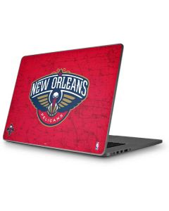 New Orleans Pelicans Distressed Apple MacBook Pro 17-inch Skin