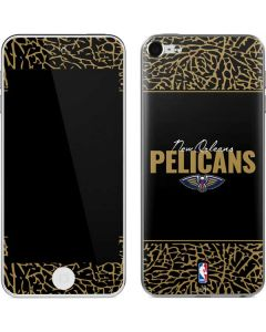 New Orleans Pelicans Elephant Print Apple iPod Skin