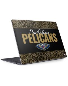 New Orleans Pelicans Elephant Print Surface Laptop 3 13.5in Skin