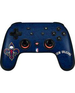 New Orleans Pelicans Google Stadia Controller Skin