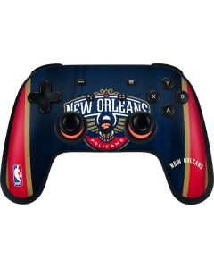 New Orleans Pelicans Jersey Google Stadia Controller Skin