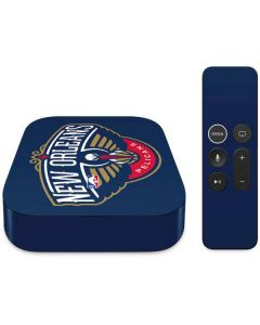 New Orleans Pelicans Large Logo Apple TV Skin