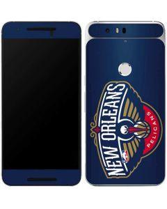 New Orleans Pelicans Large Logo Google Nexus 6P Skin