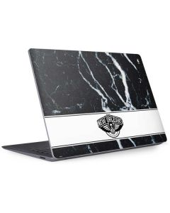 New Orleans Pelicans Marble Surface Laptop 3 13.5in Skin