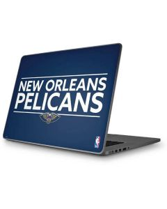 New Orleans Pelicans Standard - Blue Apple MacBook Pro 17-inch Skin