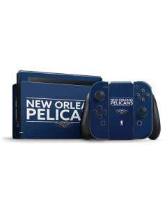 New Orleans Pelicans Standard - Blue Nintendo Switch Bundle Skin