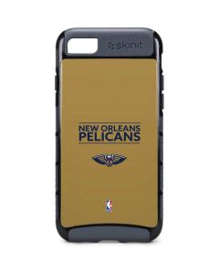 New Orleans Pelicans Standard - Gold iPhone 8 Cargo Case