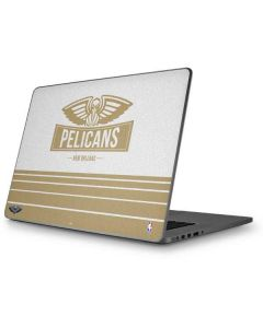 New Orleans Pelicans Static Apple MacBook Pro 17-inch Skin