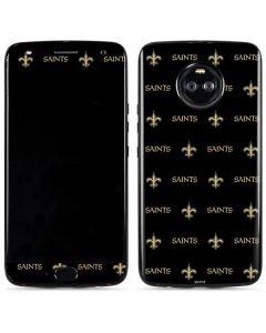 New Orleans Saints Blitz Series Moto X4 Skin