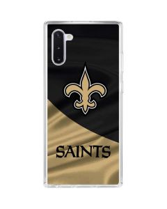 New Orleans Saints Galaxy Note 10 Clear Case