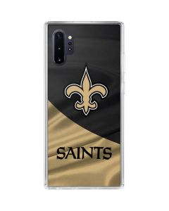 New Orleans Saints Galaxy Note 10 Plus Clear Case
