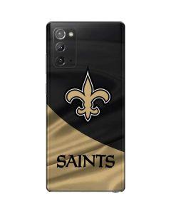 New Orleans Saints Galaxy Note20 5G Skin