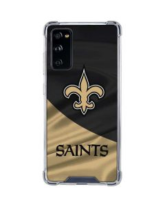 New Orleans Saints Galaxy S20 FE Clear Case
