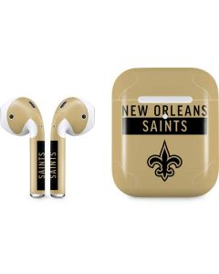 New Orleans Saints Gold Performance Series Apple AirPods 2 Skin