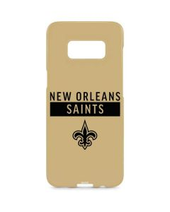 New Orleans Saints Gold Performance Series Galaxy S8 Plus Lite Case