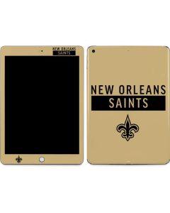 New Orleans Saints Gold Performance Series Apple iPad Skin
