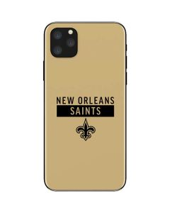 New Orleans Saints Gold Performance Series iPhone 11 Pro Max Skin