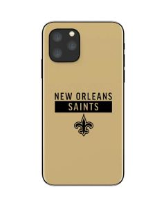 New Orleans Saints Gold Performance Series iPhone 11 Pro Skin