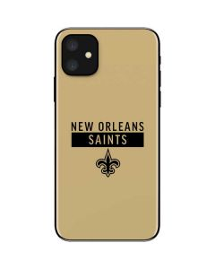 New Orleans Saints Gold Performance Series iPhone 11 Skin