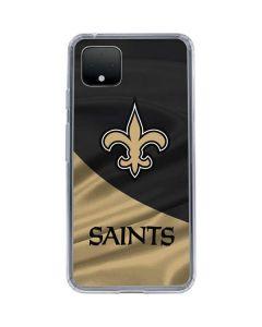New Orleans Saints Google Pixel 4 Clear Case