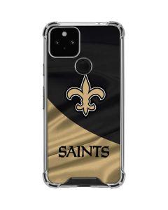 New Orleans Saints Google Pixel 5 Clear Case