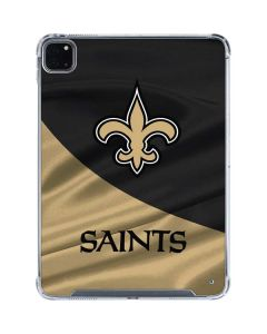 New Orleans Saints iPad Pro 11in (2020) Clear Case