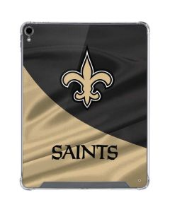 New Orleans Saints iPad Pro 12.9in (2018-19) Clear Case