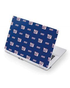 New York Giants Blitz Series Acer Chromebook Skin