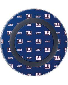 New York Giants Blitz Series Wireless Charger Skin