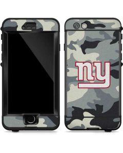 New York Giants Camo LifeProof Nuud iPhone Skin