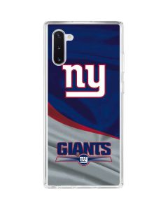 New York Giants Galaxy Note 10 Clear Case
