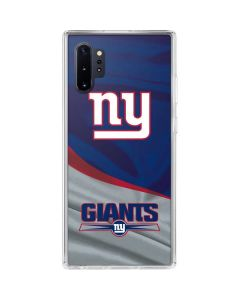 New York Giants Galaxy Note 10 Plus Clear Case