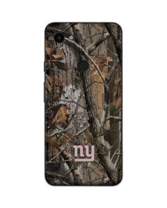 New York Giants Realtree AP Camo Google Pixel 3a Skin